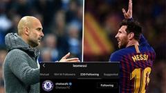 Messi nói chuyện với Guardiola ít ngày trước, 'theo dõi' Chelsea